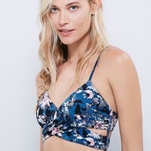 Free People Intimately Floral Bralette Wrap